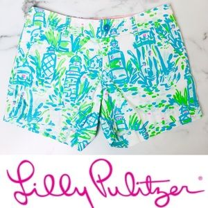 Lilly Pulitzer Callahan Shorts in Lighthouse Print